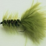 Green Wooly Bugger
