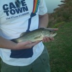 Smallmouth Bass caught at - http://www.flywaters.co.za/mardouw-country-house/