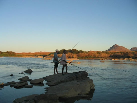 Orange River Fishing Fishing The Western Cape Waters